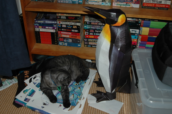 Paper Penguin and Winston